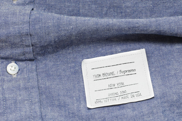 Thom Browne for Supreme
