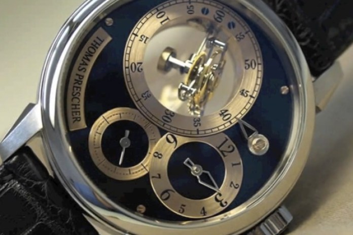 Thomas Prescher presents The Triple Axis Flying Tourbillon Watch