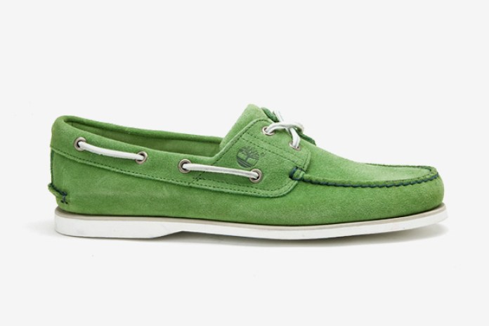 Timberland for Saks Fifth Avenue Handsewn Boat Shoe Collection