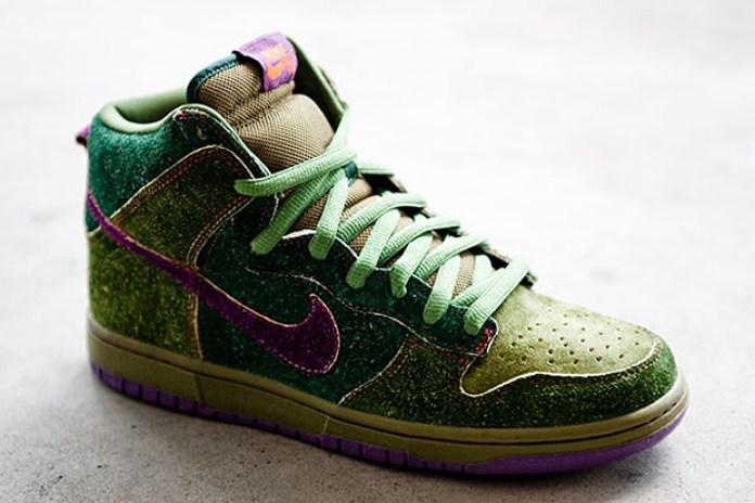 "Todd Bratrud x Nike SB Dunk High Premium ""Skunk"""