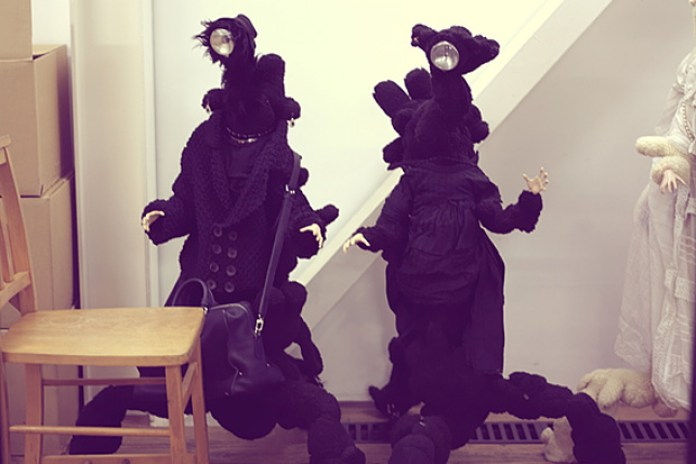 UNDERCOVER Black Grace Doll for Louis Vuitton