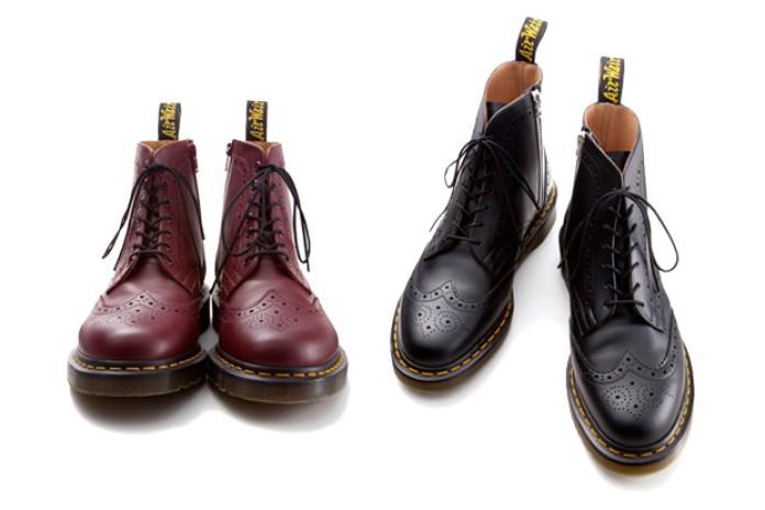uniform experiment x Dr. Martens WING TIP BOOTS