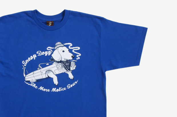 "Snoop Dogg x Jeremy Fish x Upper Playground ""More Malice"" T-Shirt"