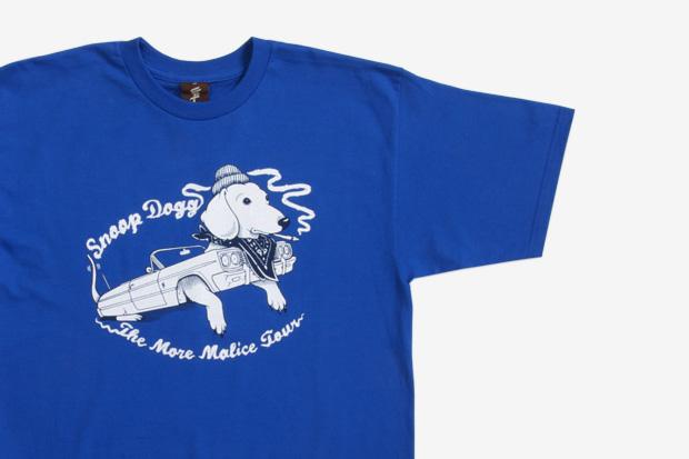 "Snoop Dogg x Jeremy Fish x Upper Playground ""More Malice"" T-Shirt"