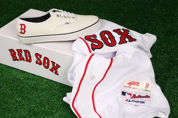 Vault by Vans x MLB Boston Red Sox Authentic LX for Bodega