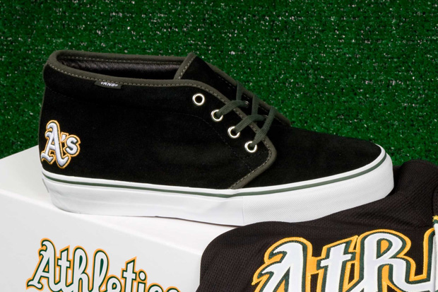 Vault by Vans x MLB Oakland A's Chukka LX for Bows & Arrows