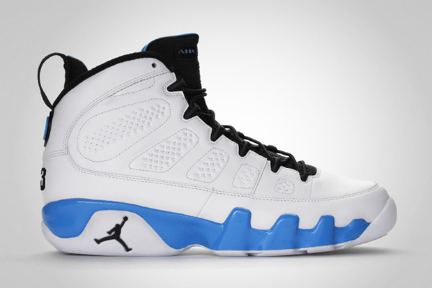 "Air Jordan 9 ""Powder Blue"" Retro"