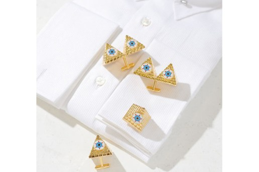 "AMBUSH ""EYE AM NOT ALONE"" Cuff Links"
