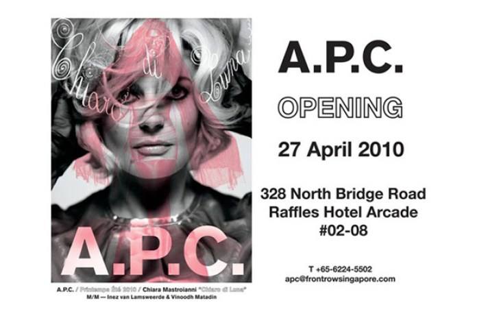 A.P.C. Store in Singapore