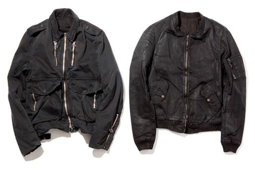 Balmain Homme 2010 Spring/Summer Jackets