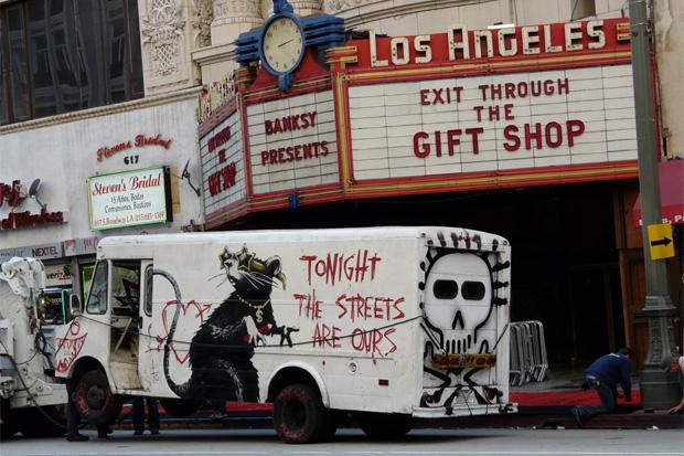 "Banksy ""Exit Through The Gift Shop"" Los Angeles Premiere"