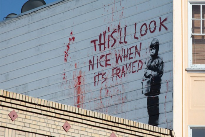 Banksy in San Francisco
