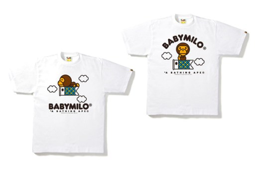 "A Bathing Ape Baby Milo ""Carp Streamer"" T-shirts"