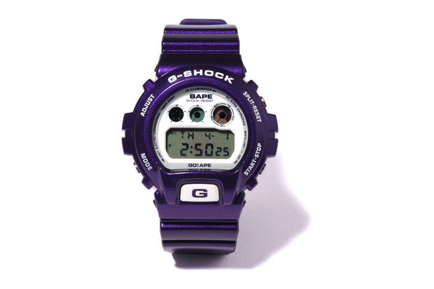 A Bathing Ape x CASIO G-SHOCK DW-6900