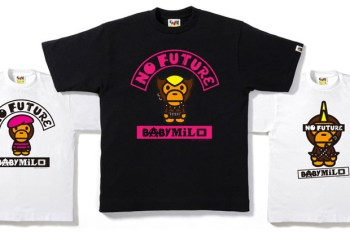 """A Bathing Ape Baby Milo """"No Future"""" T-shirt Collection"""