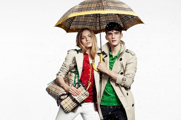 """Burberry 2010 Summer """"April Showers"""" Capsule Collection"""