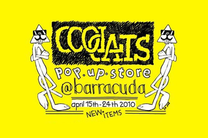 Cool Cats at Barracuda Pop-Up Shop