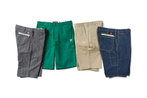 Stussy x Dickies 2010 Spring/Summer Collection Worker Short