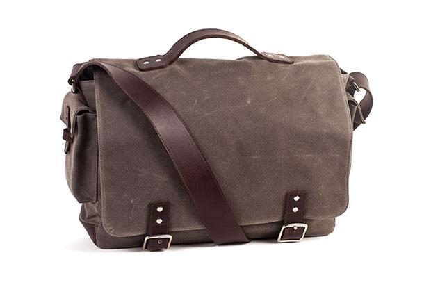 Ernest Alexander Voldis Grey Waxwear Bag