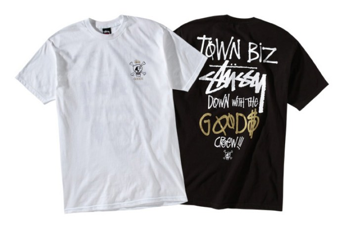 "Goods x Stussy Seattle ""Town Biz"" Tee"