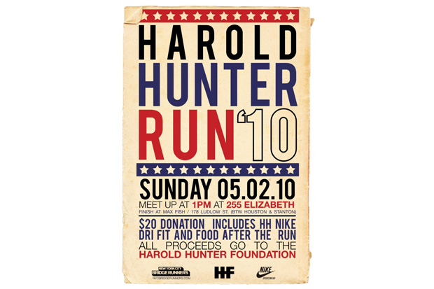 Harold Hunter Run 2010