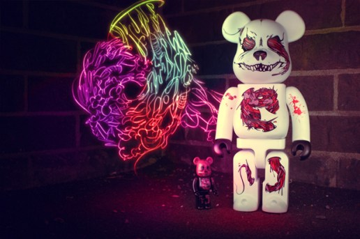 HEADQUARTER x SEHER x MEDICOM TOY BEARBRICK 100% & 400%