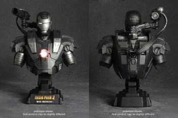 Hot Toys Iron Man 2 War Machine Collectible Bust