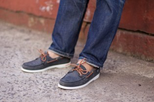 Ronnie Fieg x Sebago Dockside with Jake Davis