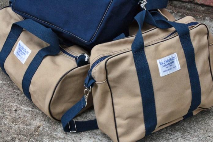 Wm. J. Mills & Co Nautical Canvas Bags