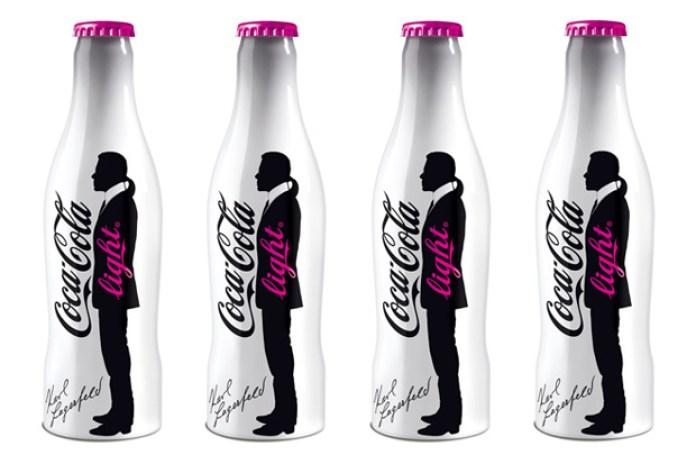 Karl Lagerfeld Coca-Cola Light Bottle