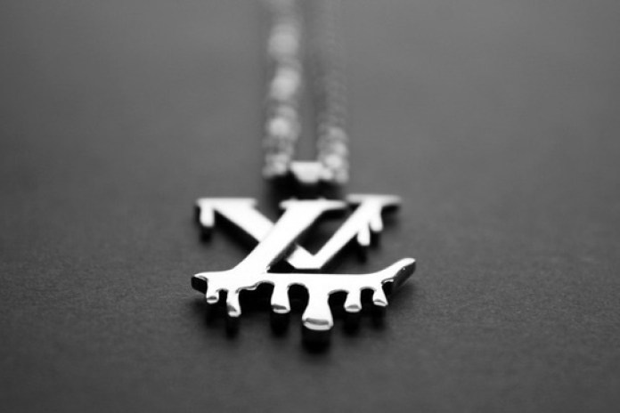 "Lasse R. Jensen ""Louis Vuitton Must Die"" Necklace"