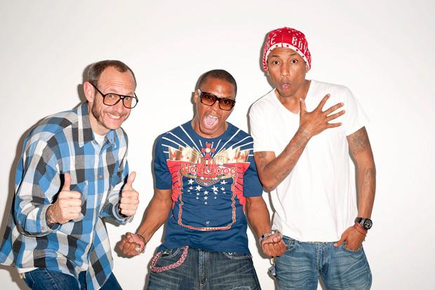 Lupe Fiasco & Pharrell x Terry Richardson Photoshoot