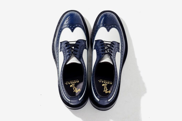 Mr. Bathing Ape x Regal Wing Tip Shoe