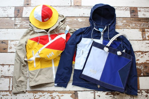 "nanamica x Helly Hansen ""International Flag"" Collection"