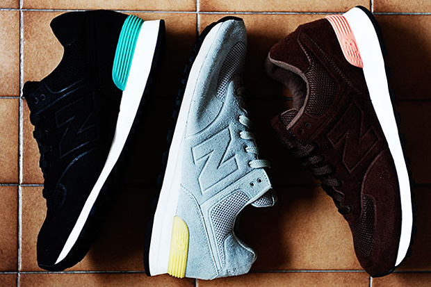 "New Balance 2010 Fall/Winter Collection 574 ""Sonic Welded"""