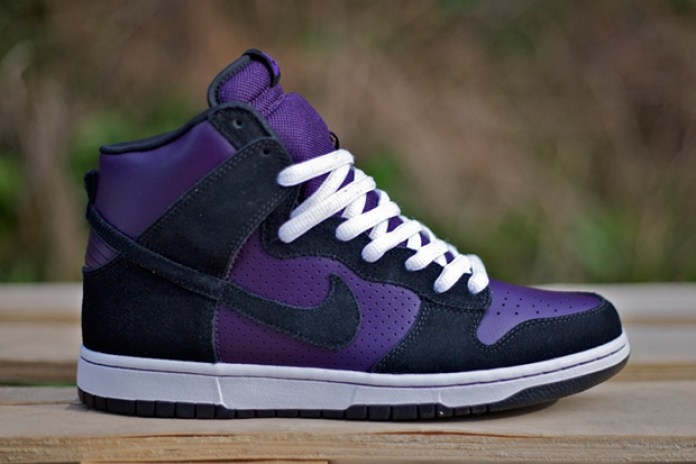 Nike SB Dunk High Grand Purple/Black