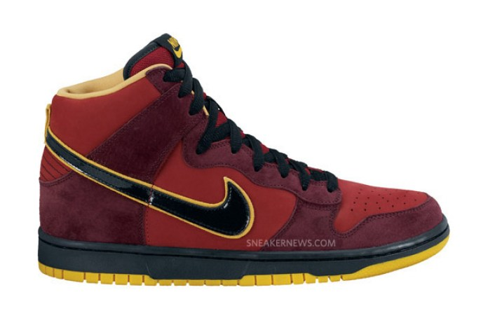 """Nike SB Dunk High Premium """"Iron Man"""""""
