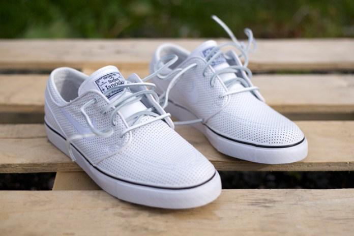"Nike SB ""White Perforated"" Zoom Stefan Janoski"