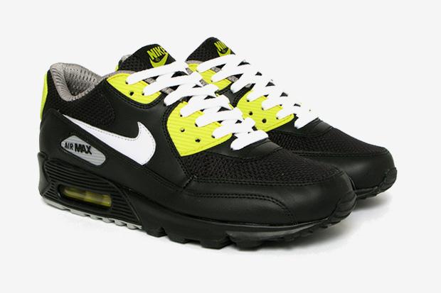 "Nike Sportswear Air Max 90 Premium ""Black/Vibrant Yellow"""