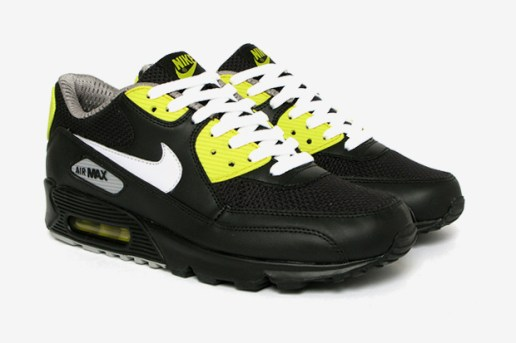 "Nike Sportswear Air Max 90 Premium ""Black/Vibrant Yellow"""