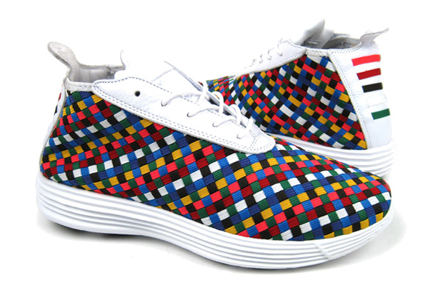 "Nike Sportswear 2010 Spring/Summer Collection Lunar Chukka Woven+ Quickstrike ""Rainbow"""