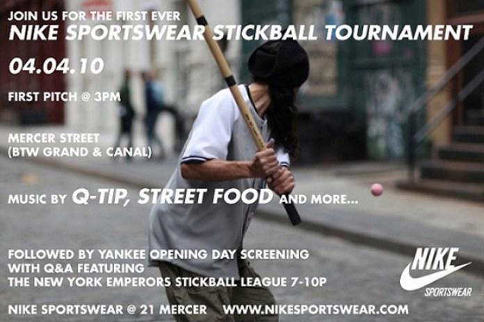 Nike Sportswear Stickball Tournament NYC