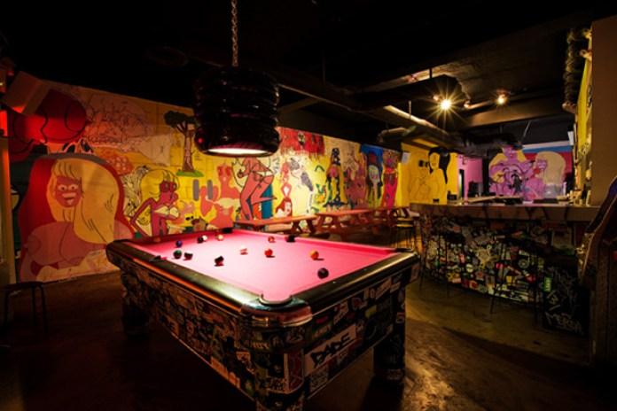 OHWOW Bar Installation by Todd James