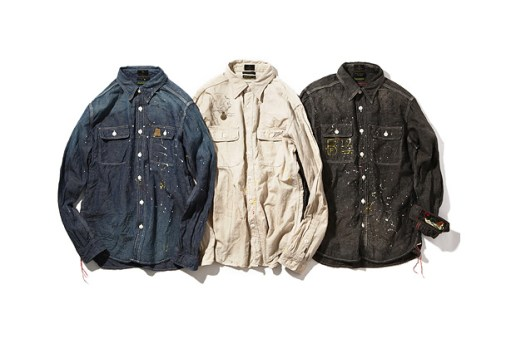OLD JOE x Blackflag Chambray Shirts