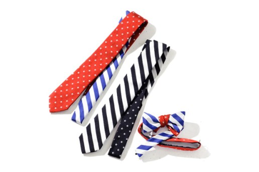 PEGLEG NYC x United Arrows & Sons Ties and Bowties