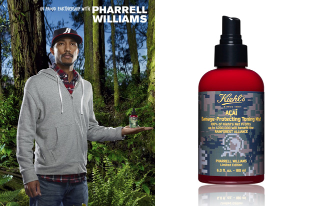 Pharrell Williams for Kiehl's Toning Mist