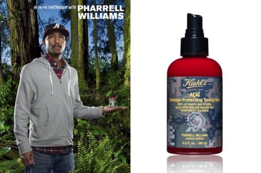 Pharrell Williams for Kiehl's Toning Mist