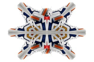 Pierre Hardy Colorama Graff Sneaker