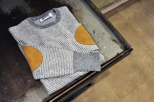 PRESENT Elbow Patch Lambswool Knit