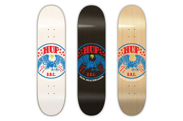 Real Skateboards x HUF Limited Edition Decks